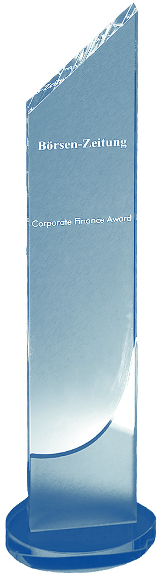 Corporate Finance Award der Börsen-Zeitung